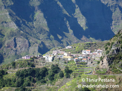 Madeira, above Serra d'gua