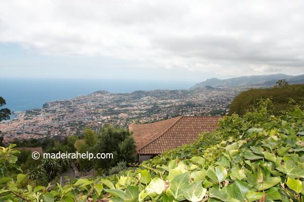 View from Choupana Hills Resort & SPA, Funchal, Madeira