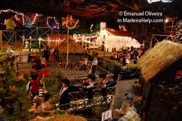 Christmas Scene, Nuns Valley - Curral das Freiras, Madeira