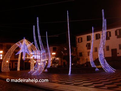 Christmas lights Madeira