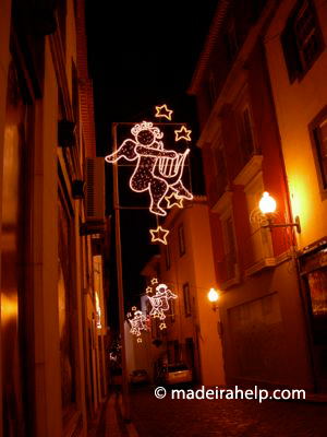 Christmas lights Funchal